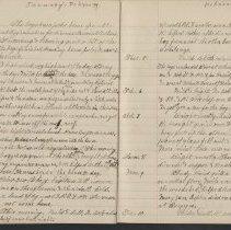Image of Olive Burgess diary, Jan 30 - Feb 10 1925