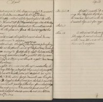 Image of Olive Burgess diary, Apr 3-12 1925
