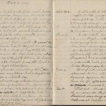 Image of Olive Burgess diary, Jan 30 - Feb 5 1924