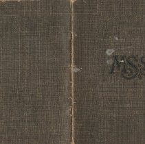 Image of Olive Burgess Diary 1924-1925 - front and back covers