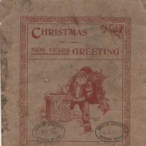 Image of Christmas And New Year's Greeting 1903-1904, front cover