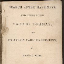 Image of Title page, Search after happiness and other poems ...
