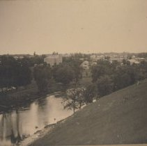 Image of Paisley from Goldie Street hill, 1900