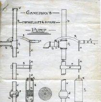 Image of Page 5, R.J. Cameron pump patent