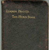 Image of Front cover, Common prayer & hymn book of Capt. Lambert
