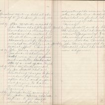 Image of Pages 3-4 of Spring Creek / Sauble Falls Telephone Co. minute book 1918-196