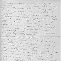 Image of Page 2, Lionel Tranter Letter Jan 20 1915