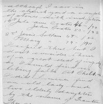 Image of Page 3, Lionel Tranter Letter Jan 20 1915