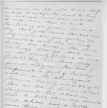 Image of Page 8, Lionel Tranter Letter Jan 20 1915