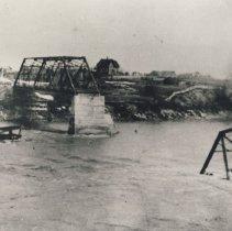Image of Broken bridge [Victoria Street?] Southampton