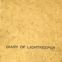 Image of Diary of a Lightkeeper, Chantry Island, cover