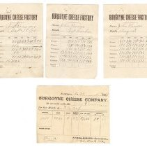 Image of A988.033.005k-m Burgoyne Cheese Factory statements 1898