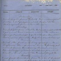 Image of Page 35, Sample of Wanderer cargo and log book (1883 entry)