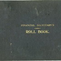 Image of A2006.022.026 - Financial secretary's roll book