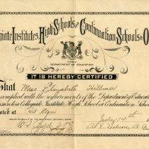 Image of Collegiate Institutes Certificate