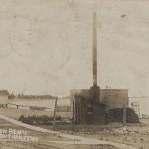 Image of Water Plant, Huron Beach, Southampton, postcard front