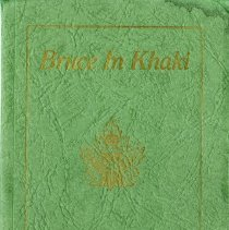 Image of Front cover, Bruce In Khaki book