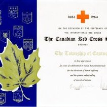 Image of AT2016.009.041 - The Canadian Red Cross Society salutes The Township of Eastnor