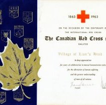Image of AT2016.009.042 - The Canadian Red Cross Society salutes The Village of Lion's Head
