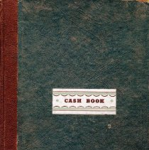 Image of Eastnor Agricultural Society cashbook 1955-1960, front cover