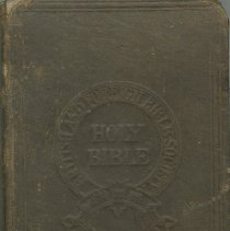 Image of Holy Bible front cover