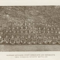 Image of Page 3, 160th Sergeants' Mess New Years card