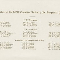 Image of Page 4, 160th Sergeants' Mess New Years card