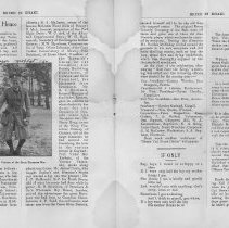 Image of Bruce in Khaki, Vol. 1, No. 1, Nov. 2, 1917, pages 54-55