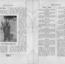 Image of Bruce in Khaki, Vol. 1, No. 1, Nov. 2, 1917, pages 58-59