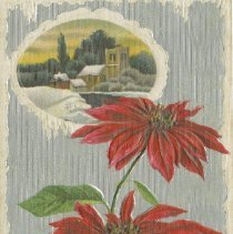 Image of Ax978.010.003 A Merry Christmas, postcard front