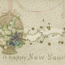 Image of Ax978.010.001 A happy New Year, front