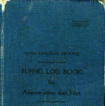 Image of Lincoln Doll Flying Log Book 1943-1945, front cover