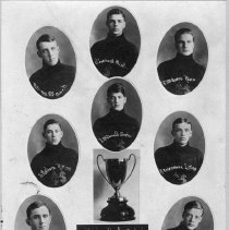 Image of Chesley High School & Hockey Club : trophy winners of Town League, 1912