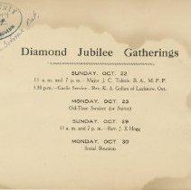 Image of Title page, Diamond Jubilee Souvenir 1922