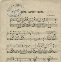 Image of Page 1 - Home, Sweet Home for the piano-forte