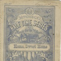 Image of Title page - Home, Sweet Home for the piano-forte
