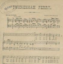 Image of Page 1, Twickenham Ferry