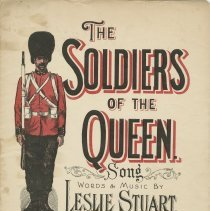 Image of Title page, The soldiers of the Queen [music]
