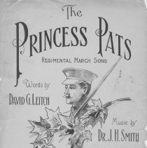 Image of The Princess Pats [music] : regimental march song, title page