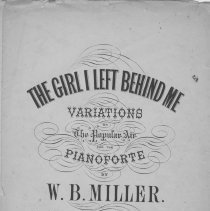 Image of The girl I left behind me, title page