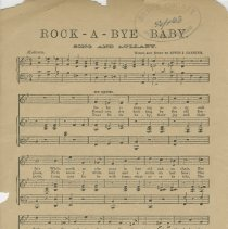 Image of Rock-a-bye baby : for voice and piano, page 2
