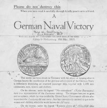 Image of A German Naval Victory