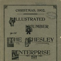 Image of Christmas, 1902 : illustrated number of The Chesley Enterprise