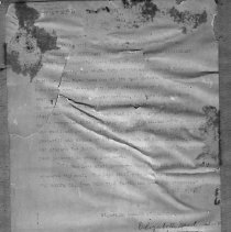 Image of Letter accompanying Women's Foreign Missionary Society certificate