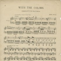 Image of Page 2, With the Colors : descriptive fantasia