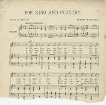 Image of Page 3, For King And Country