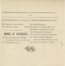 Image of Southampton Mechanics' Institute catalogue, page 25