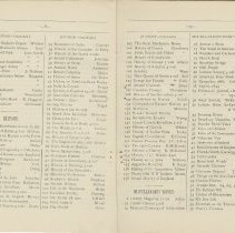 Image of Southampton Mechanics' Institute catalogue, pages 8-9