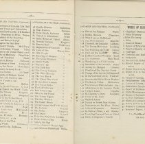Image of Southampton Mechanics' Institute catalogue, pages 16-17