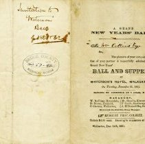Image of A Grand New Years' Ball invitation